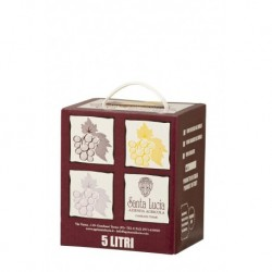 Santa Lucia - VINO BIANCO TAVOLA 12% VOL - BAG IN BOX LT 5