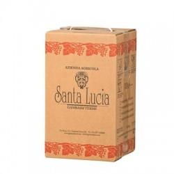 Santa Lucia - VINO ROSSO TAVOLA 12,5% VOL - BAG IN BOX LT 10